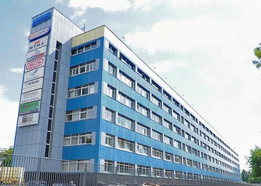 Бизнес-центр Анино Плаза под охраной ЧОП КМТ Вымпел